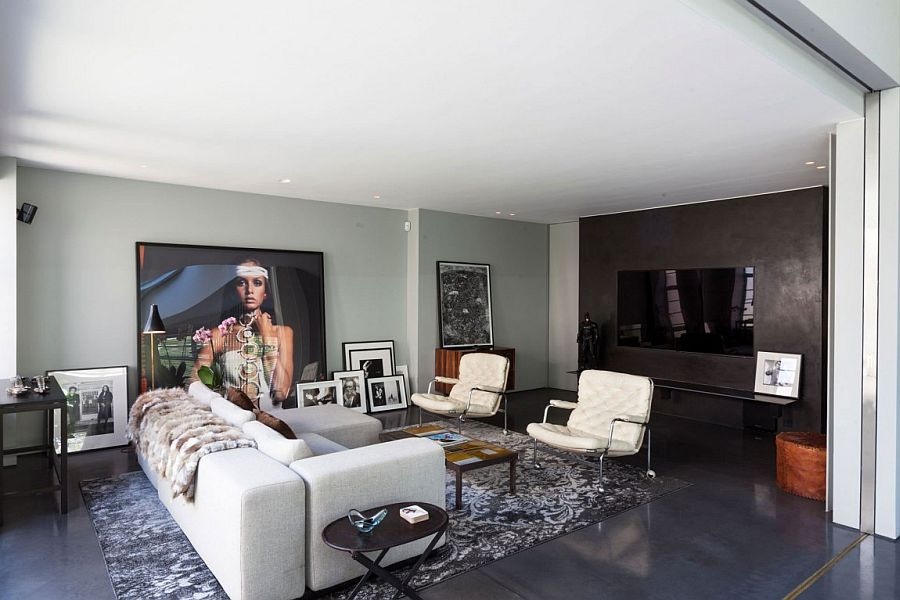 Old warehouse in London transformed into a sparkling four bedroom penthouse