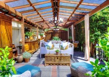 Open sunroom design is perfect for those who love outdoor living