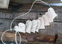 Package of birch bark hearts from Etsy shop CrazyBirch
