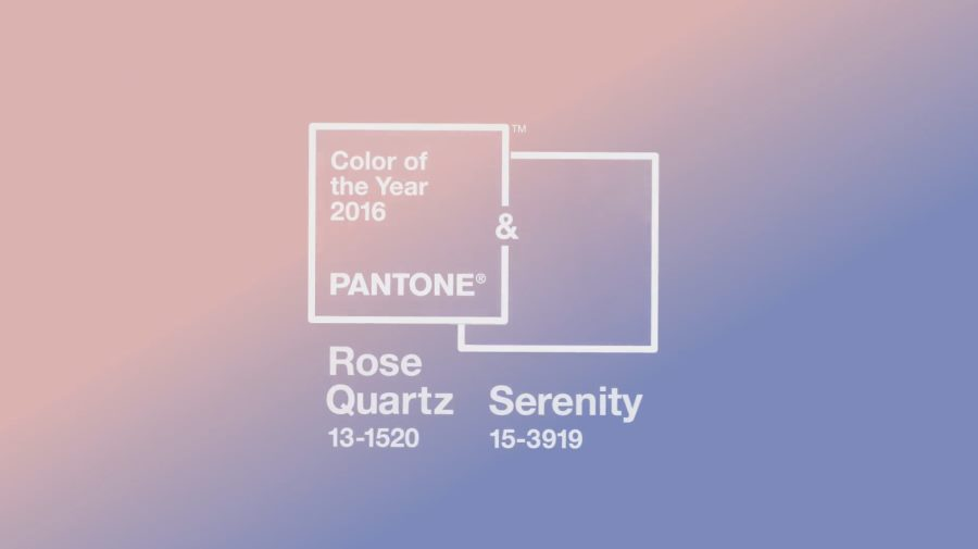 pantone 39 s 2016 color of the year rose quartz and serenity. Black Bedroom Furniture Sets. Home Design Ideas