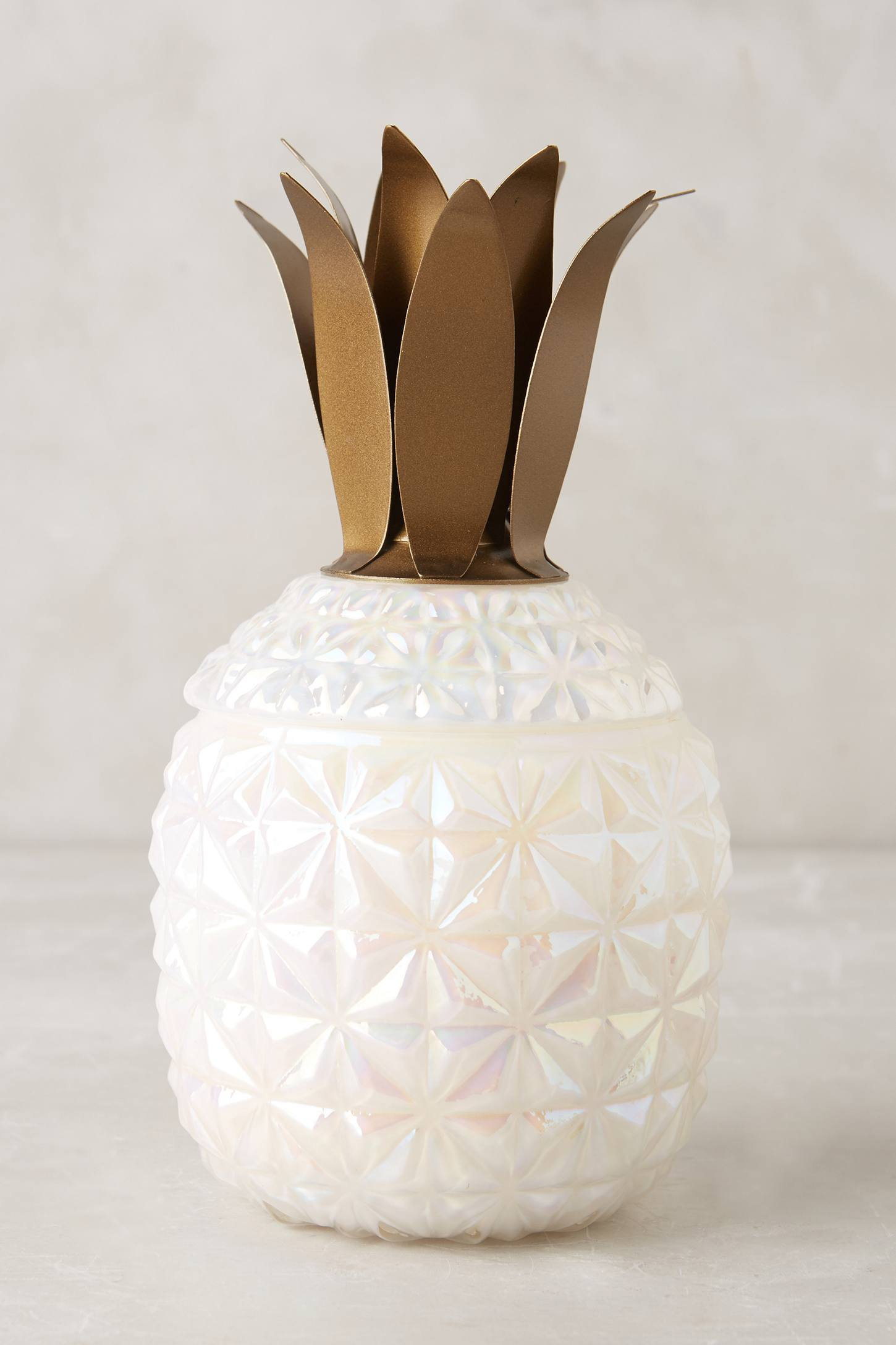 Pineapple candle from Anthropologie