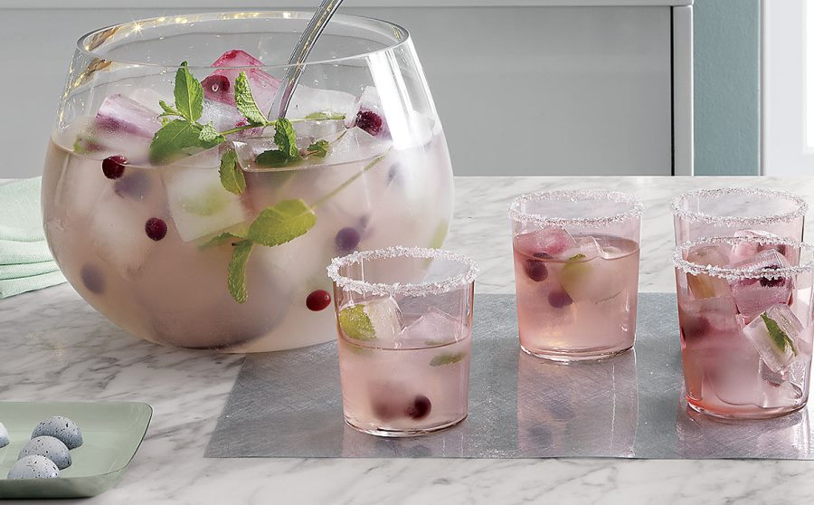 Pink drinkware from CB2