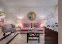 Plush-couch-lamps-and-fuzzy-pillow-add-an-undeniable-pink-hue-to-the-cozy-living-room-217x155