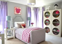 Refined design of the bedroom will serve your little girl well for years to come!