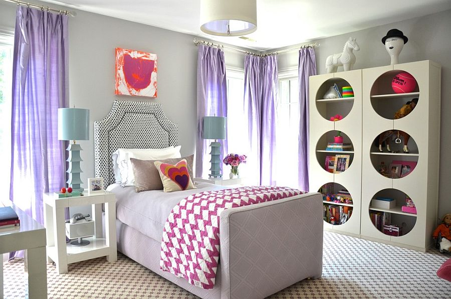 Refined design of the bedroom will serve your little girl well for years to come! [Design: d2 interieurs]