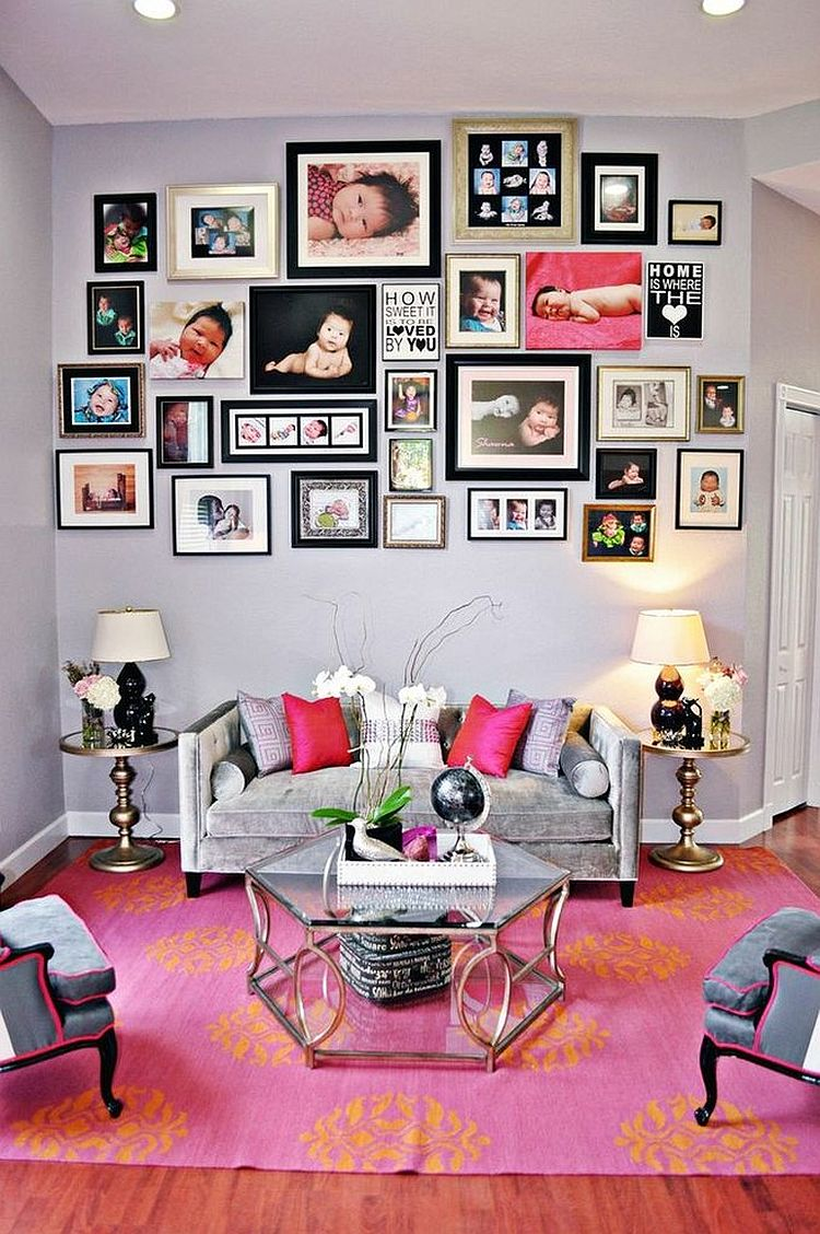 ... Repeat Pink Throughout The Living Room In A Subtle Fashion For A  Curated Look [Design