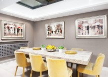 Retractable skylight brings natural ventilation into the smart dining space