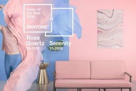 Pantone's 2016 Color of the Year: Rose Quartz and Serenity