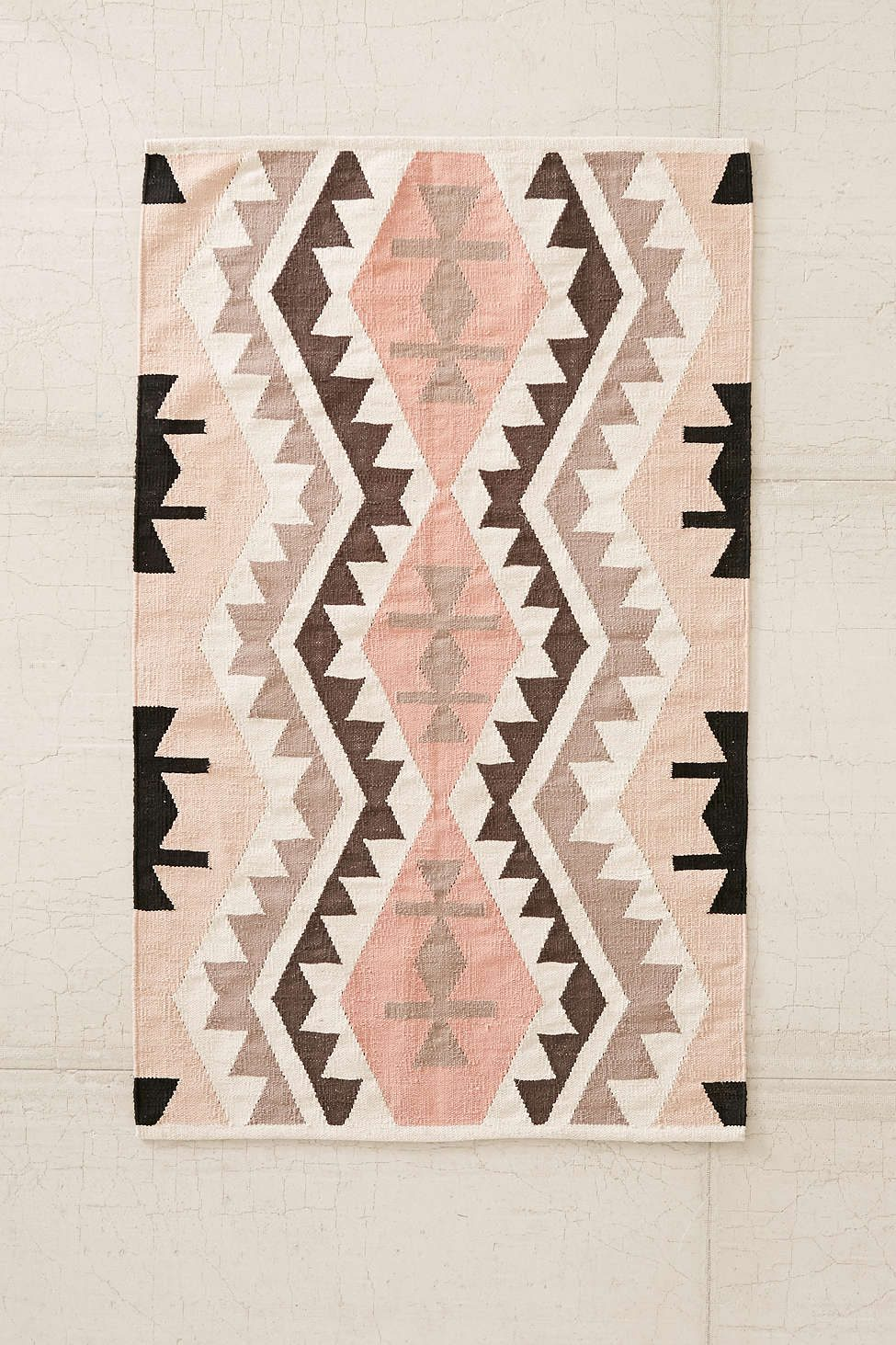 Rosy kilim rug from Urban Outfitters
