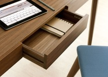 Saffo offers plenty of storage space despite its sleek presence