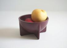 Sand cast aluminum bowl from Fort Standard
