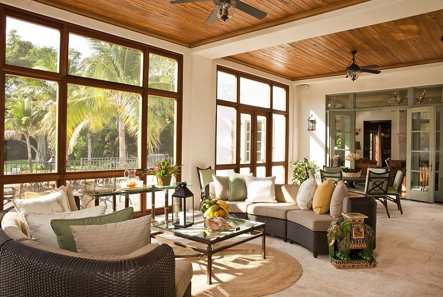 Embracing warmth 25 mediterranean inspired sunrooms for a for How to design a sunroom