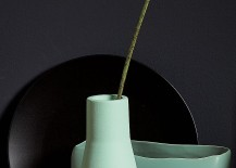 Seafoam green vase from CB2