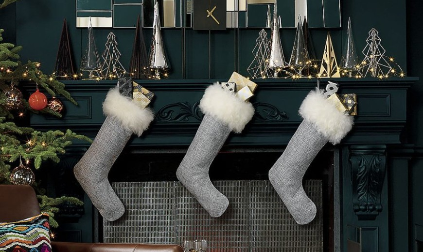 10 Christmas Stockings with Modern Style