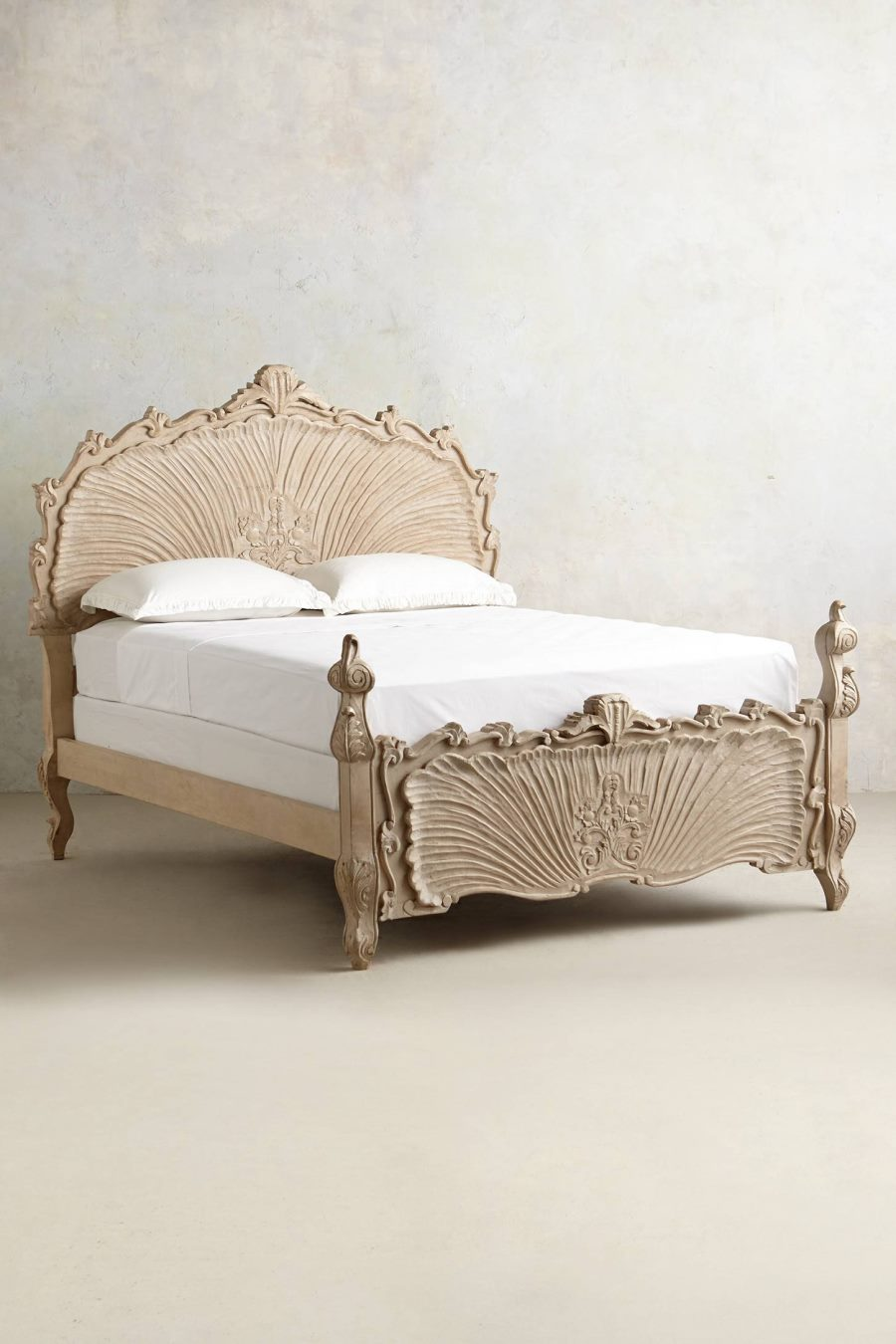 Shell-motif bed from Anthropologie