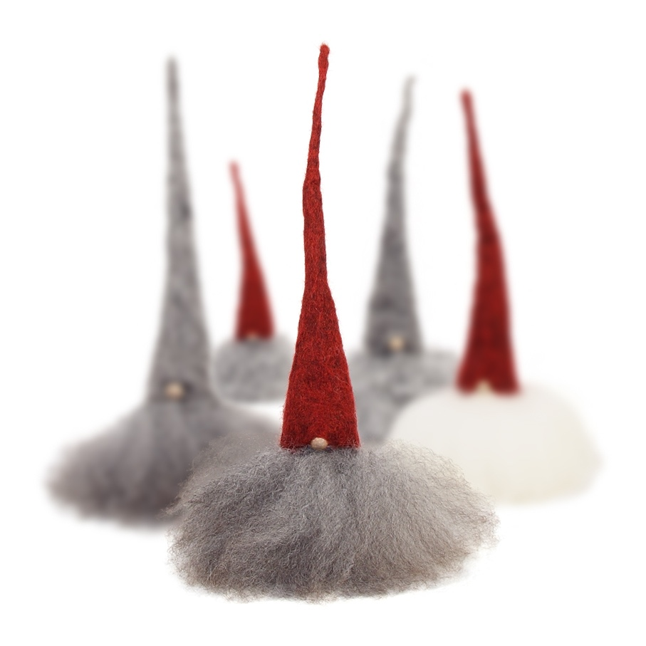 Small bearded tomte