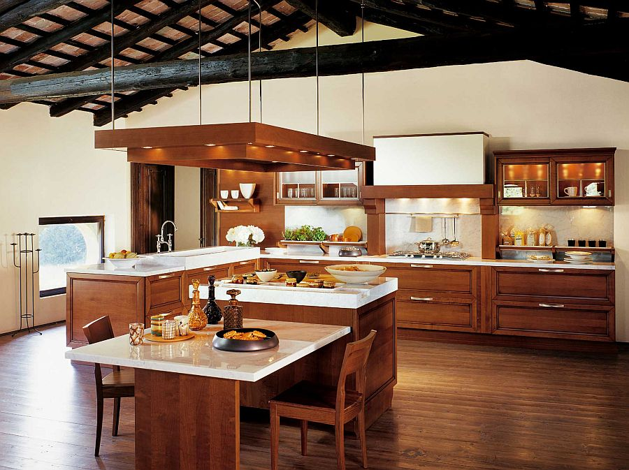Kitchen Certosa Luxury Kitchen Gives Timeless Italian Design A Modern