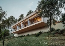 Smart, sustainable home design in Spain with a view of Collserola mount