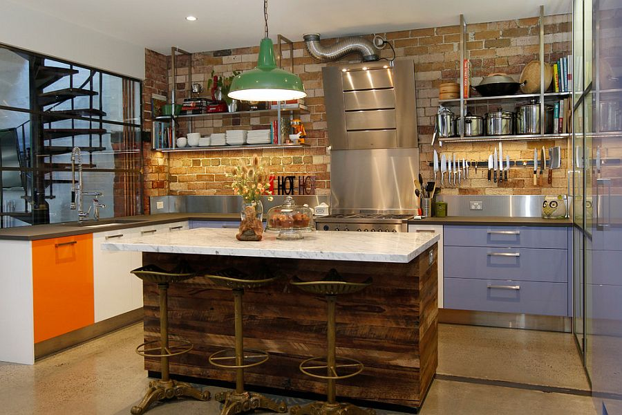 Kitchen Island Ideas Brick 50 trendy and timeless kitchens with beautiful brick walls