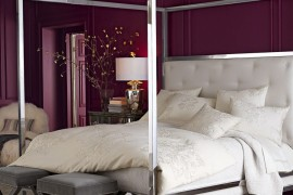 A canopy of style for High end canopy beds
