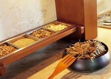 Store away those spices in style with custom racks