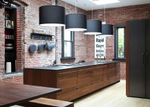 Striking-pendant-lighting-and-brick-walls-create-a-great-fusion-between-contemporary-and-industrial-styles-217x155