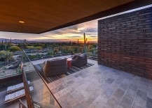 Stunning view of the Sonoran desert from the Damon Residence