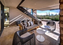 Stylish indoor-outdoor interplay shapes cool Tucson home