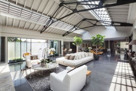 Explore London from this Penthouse Apartment in a Revamped Warehouse