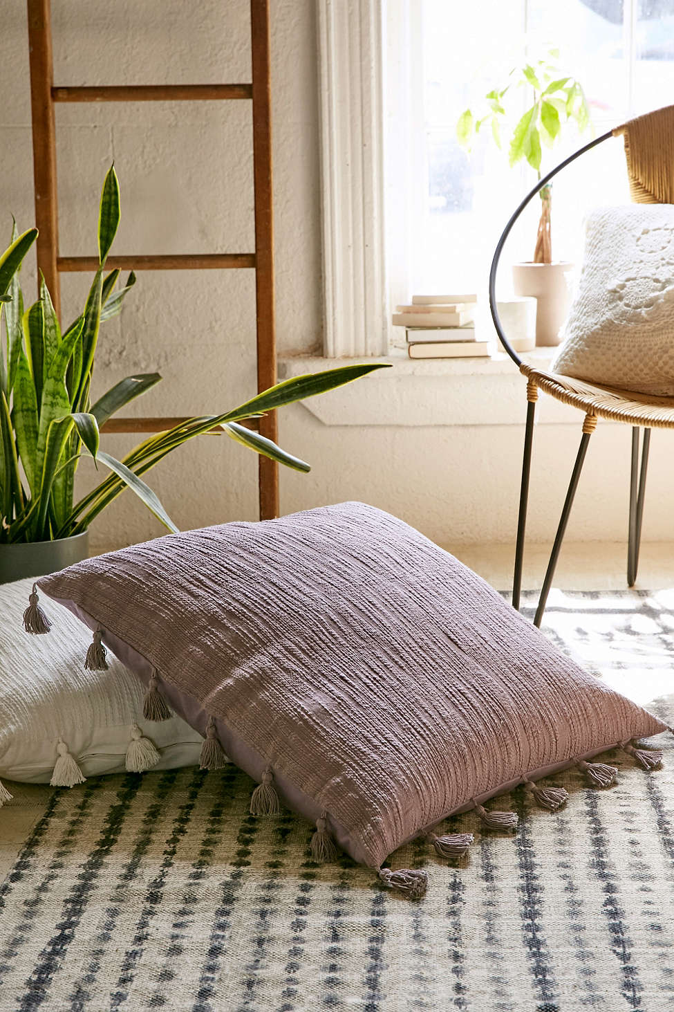 Tasseled pillows from Urban Outfitters