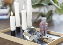 The Oak Men Candle Tray