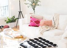 The living room of Design Love Fest blogger Bri Emery