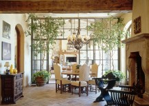 Turn the sunroom into a relaxing family hangout