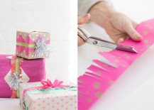 Unique gift wrap ideas from Design Love Fest