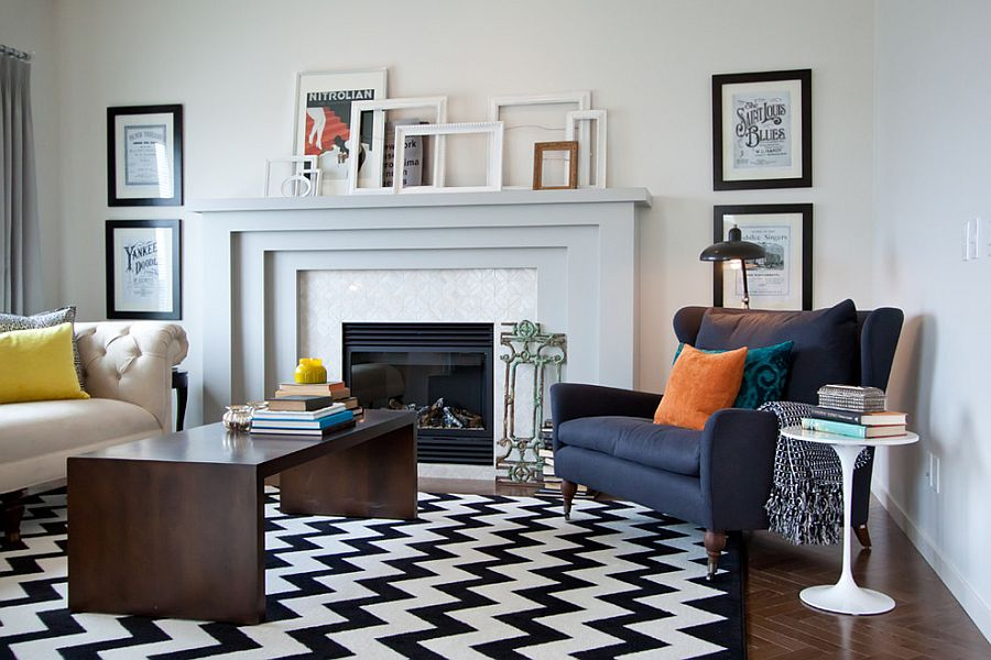 Hot Trend 30 Creative Ways To Decorate With Empty Frames