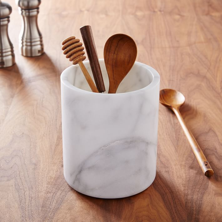 Utensil holder from West Elm