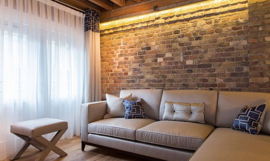 Brick Beauty: Chic Converted Warehouse Apartment in Shad Thames