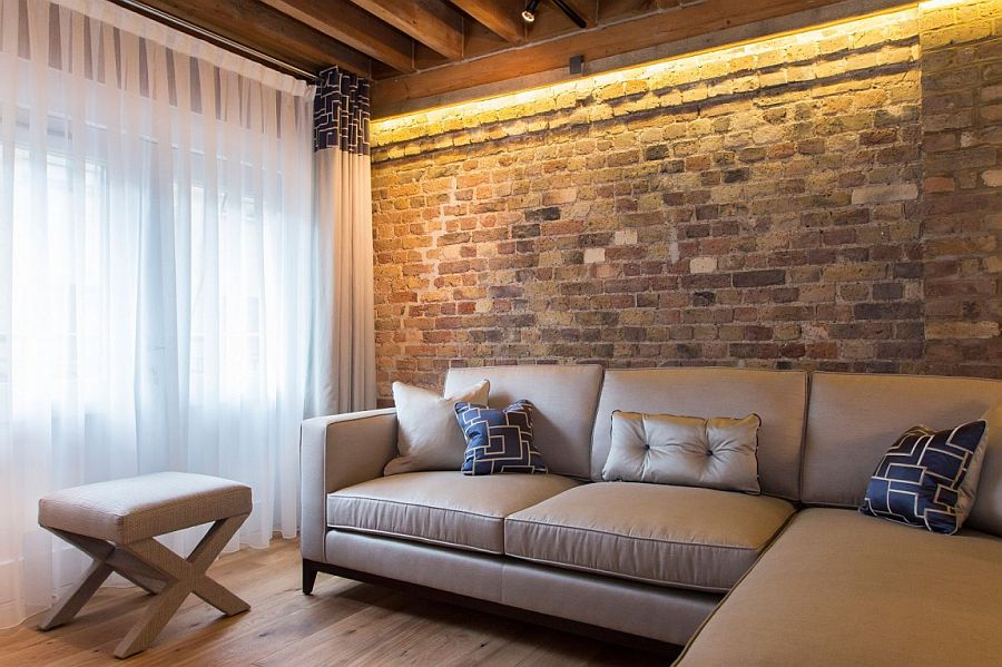 Warehouse apartment in Shad Thames with a modern, space-conscious makeover