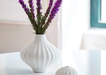 White ceramic vases from Jonathan Adler