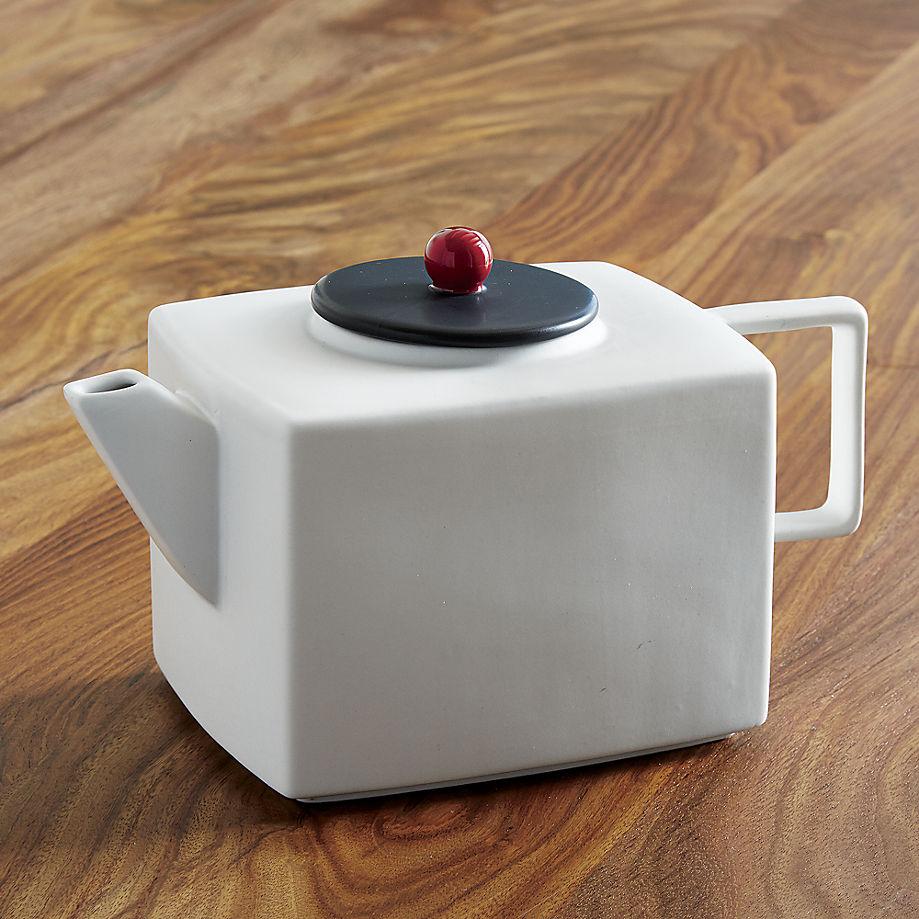 White teapot from CB2
