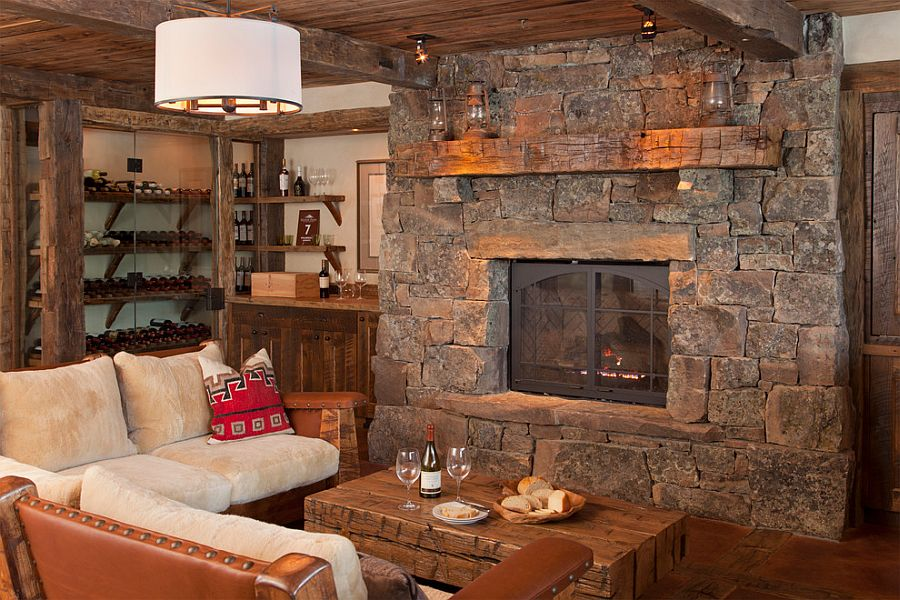 Rustic Style spanish peaks cabin: a rustic gateway to big sky's unspoiled beauty