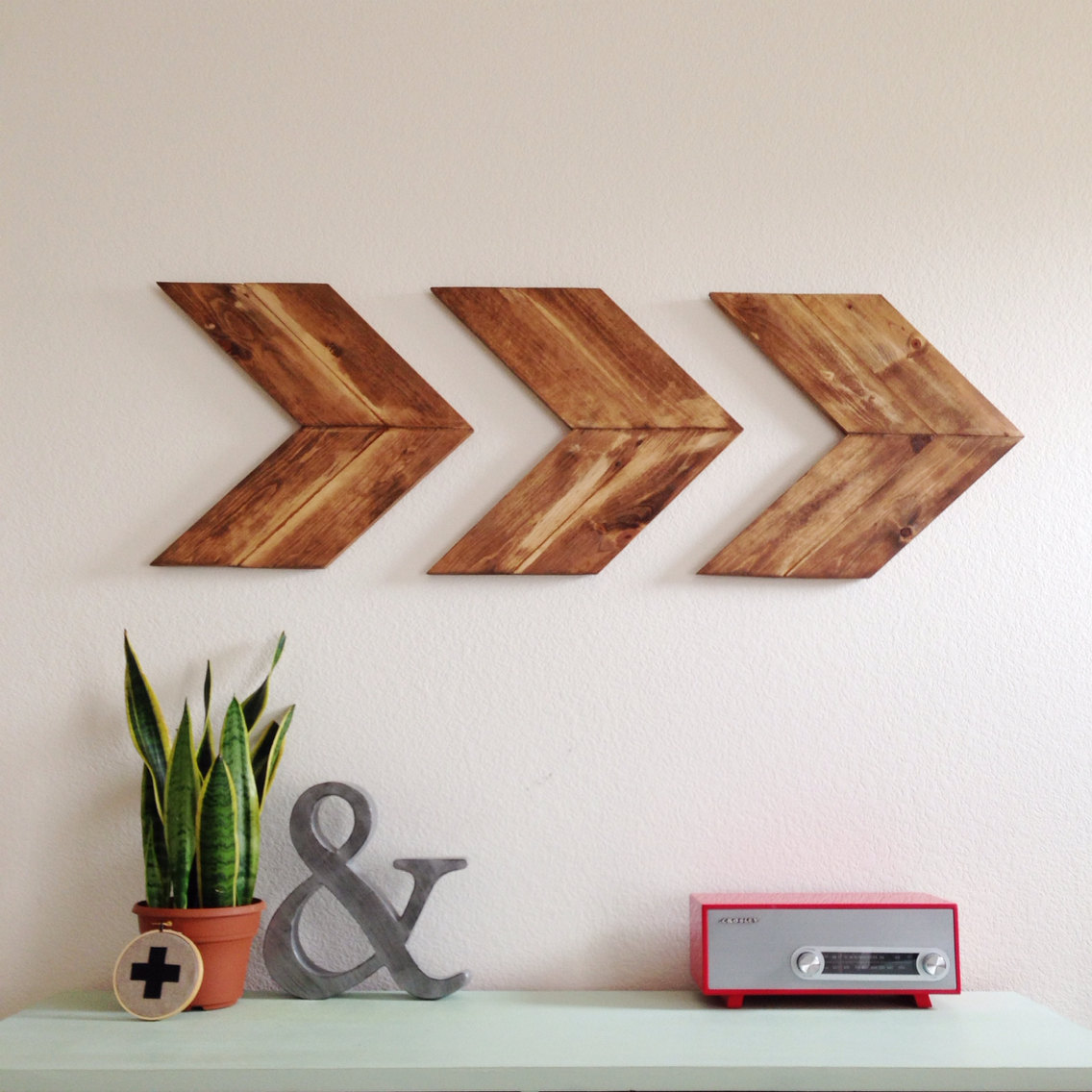 ... Wood Arrow Wall Art