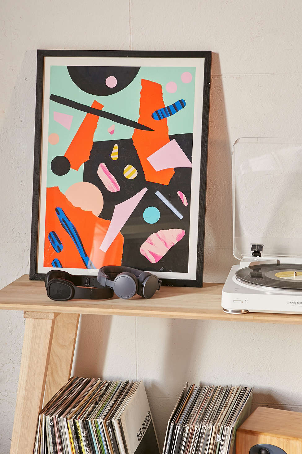 Abstract art print by Mireia Ruiz for Urban Outfitters