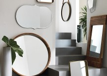 Assortment of mirrors from CB2