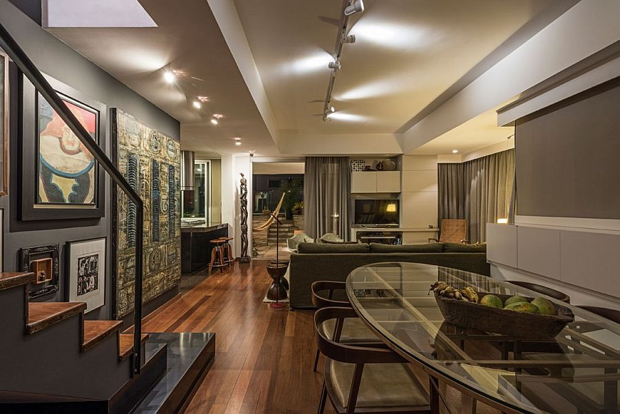 View In Gallery Awesome Brazilian Home Combines Modern Panache, Local Flair  And 50s Decor Elegantly