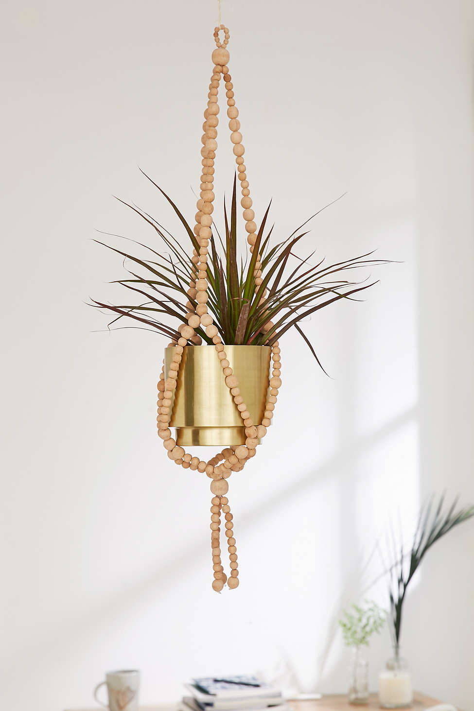 Beaded plant hanger from Urban Outfitters
