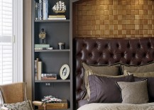 Bedroom combines modern style with Victorian touches 217x155 25 Victorian Bedrooms Ranging from Classic to Modern