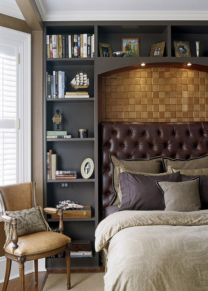 ... Bedroom combines modern style with Victorian touches [Design: Siemasko  + Verbridge]