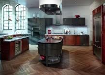 Black stainless steel kitchen appliances from KitchenAid