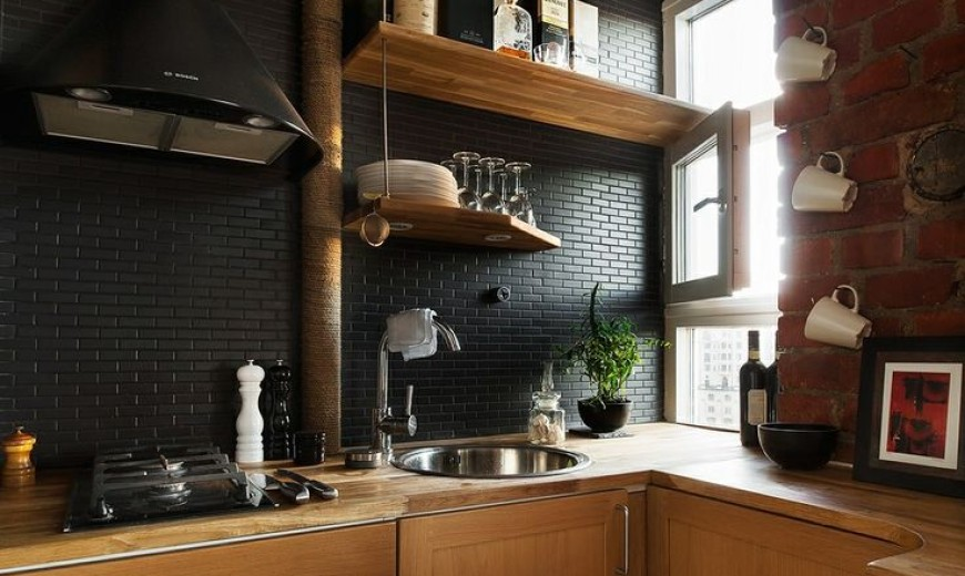 Modern Black Kitchen 2016 Awesome Decoration